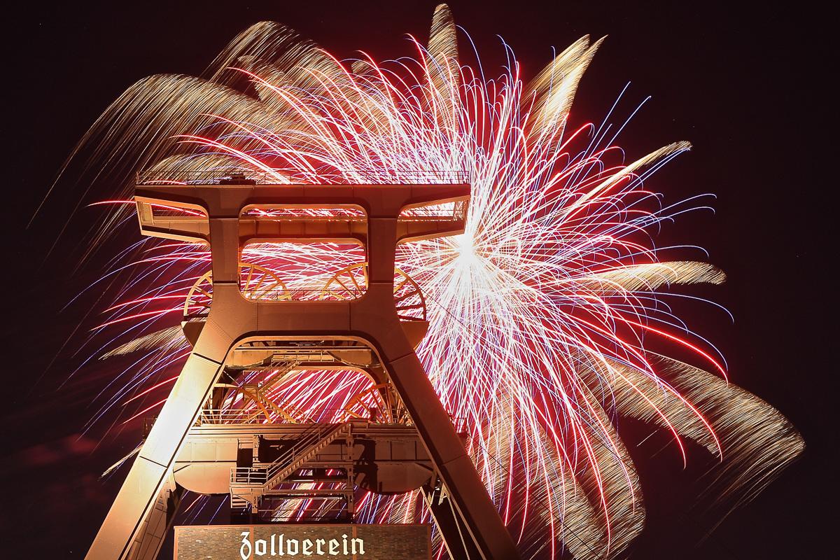 Feuerwerk im Pott