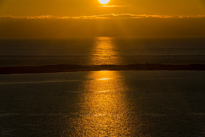 Sonnenuntergang an der Dune du Pyla bei Arcachon