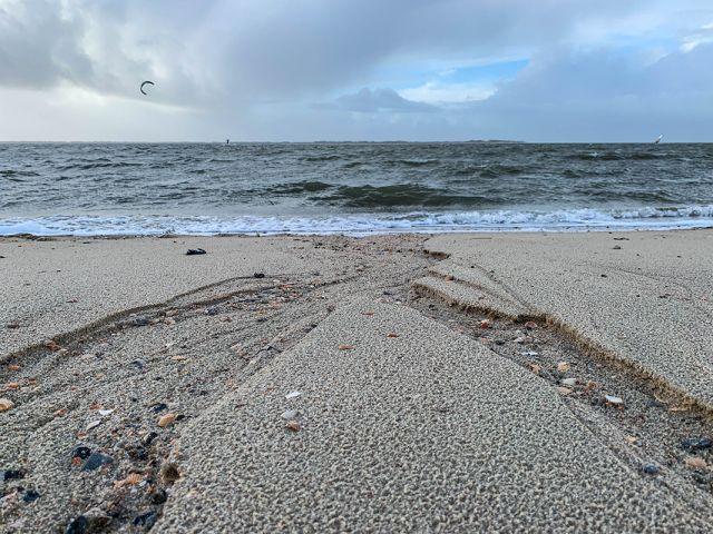 Fluss im Sand, Foto von: Frerk-Peter Werth