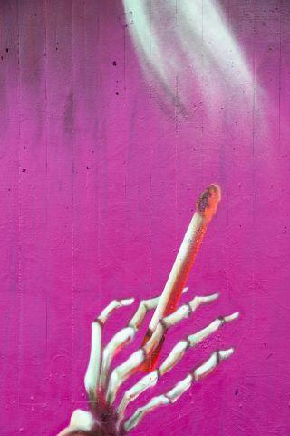 Rauchen macht schlank, Foto: Reinhold Schulte - Holtey